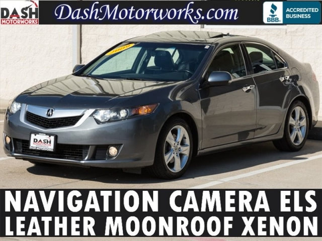 2009 Acura TSX Navigation Leather Moonroof