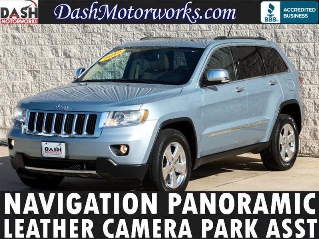 2012 Jeep Grand Cherokee Limited Navigation Panoramic Leathe