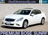Infiniti G37 Sedan Bose Moonroof Leather 2013