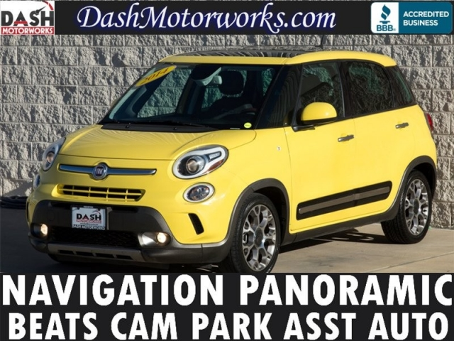 2014 Fiat 500L Navigation Panoramic Beats Auto