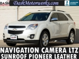 Chevrolet Equinox LTZ Navigation Sunroof Leather Chrome 2014