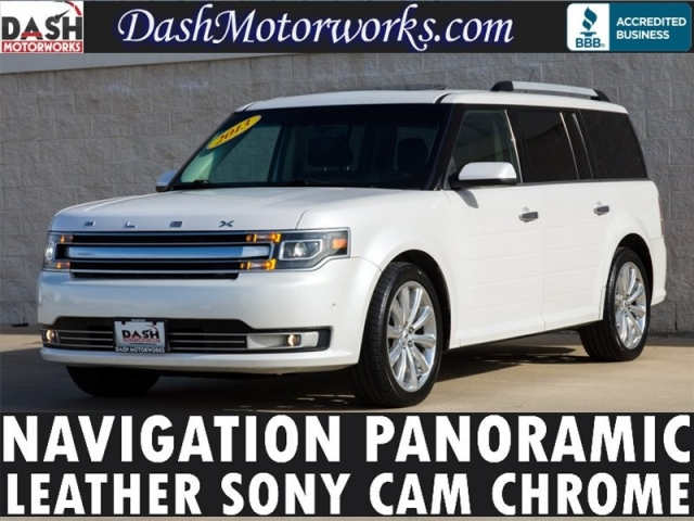 2013 Ford Flex Limited Navigation Panoramic Camera Chrome