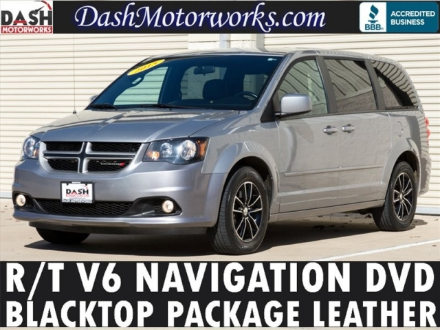 2015 Dodge Grand Caravan R/T Navigation DVD Blacktop Pkg Leat