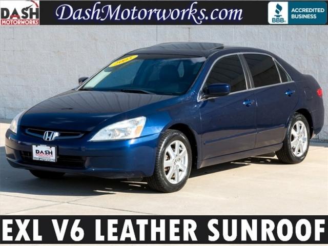 2005 Honda Accord EX L V6 Leather Sunroof Auto