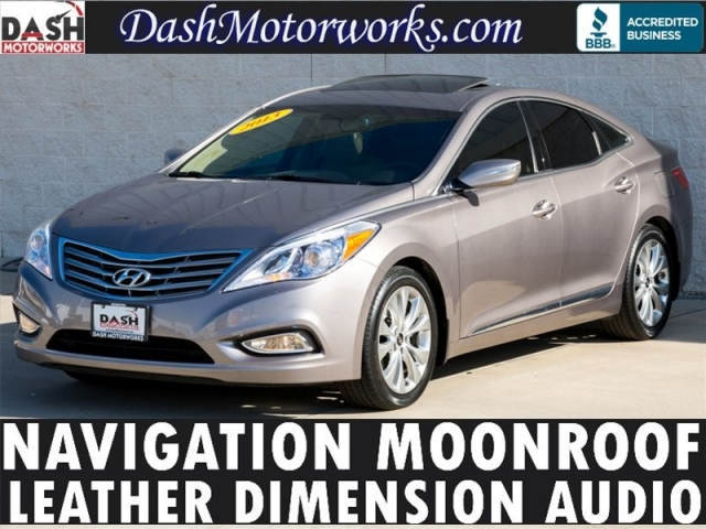 2013 Hyundai Azera Navigation Sunroof Leather