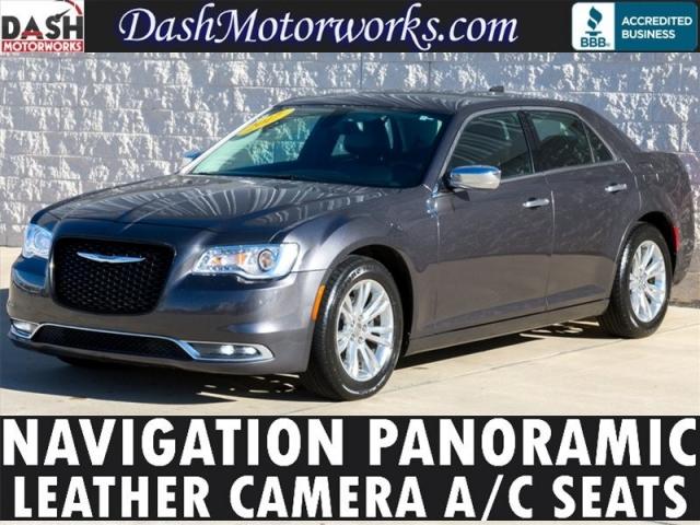 2016 Chrysler 300C Navigation Panoramic Leather Chrome