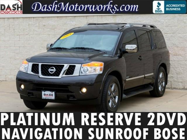 2014 Nissan Armada Platinum Reserve 8-Pass