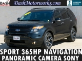 Ford Explorer Sport Panoramic Navigation 2014