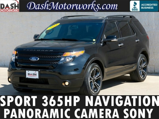 2014 Ford Explorer Sport Panoramic Navigation