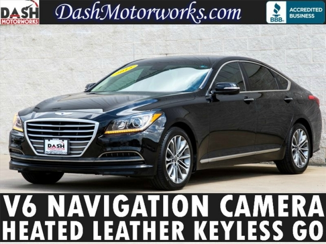 2015 Hyundai Genesis Navigation Camera Leather