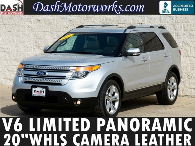 2014 Ford Explorer Limited Panoramic Leather Camera Sony