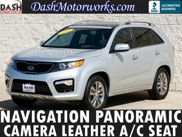 2012 Kia Sorento SX V6 Navigation Panoramic Chrome 7-Pass