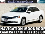 Volkswagen Passat SEL Premium Navigation Sunroof Leather Came 2013