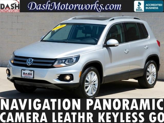 2016 Volkswagen Tiguan Navigation Panoramic Leather Camera