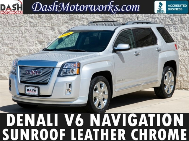 2015 GMC Terrain V6 Denali Navigation Moonroof Leather Camera