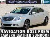 Buick Verano Navigation Leather Camera Bose Moonroof 18- 2016