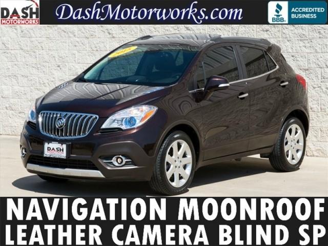 2015 Buick Encore Navigation Leather Sunroof Camera