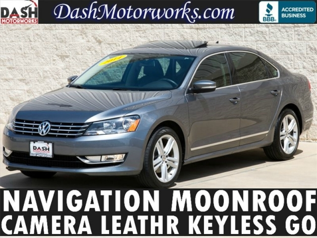 2014 Volkswagen Passat SEL Premium Navigation Sunroof Leather Came