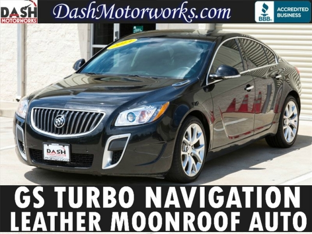 2013 Buick Regal GS Navigation Sunroof Leather Auto