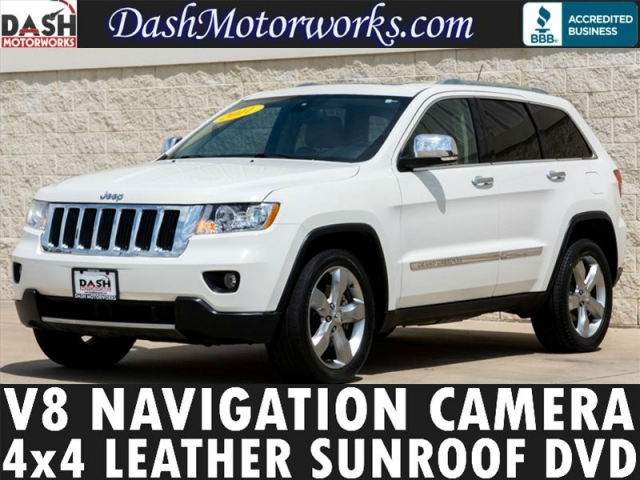 2011 Jeep Grand Cherokee V8 Limited 4x4 Navigation DVD Sunro