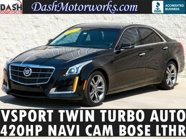 2014 Cadillac CTS VSport Twin Turbo Navigation Bose