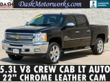 Chevrolet Silverado 1500 LT Crew Cab Leather Chrome Camera 2013