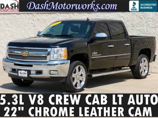 2013 Chevrolet Silverado 1500 LT Crew Cab Leather Chrome Camera