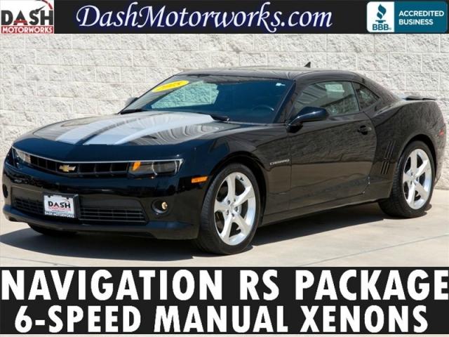 2015 Chevrolet Camaro LT Navigation Manual RS