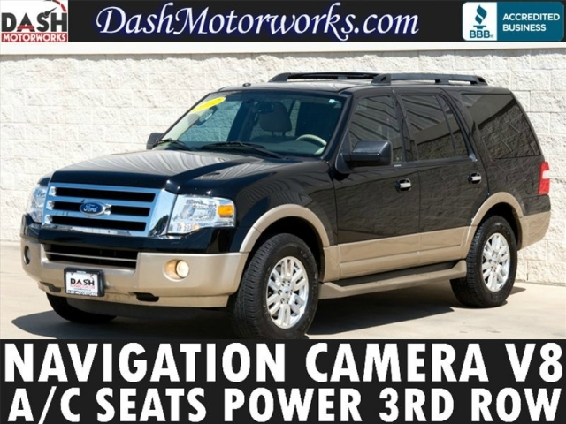 2012 Ford Expedition Navigation Camera Moonroof Leather