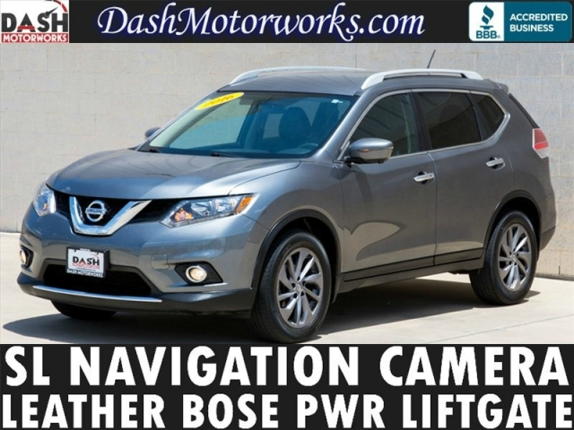 2016 Nissan Rogue SL Navigation Camera Bose Leather