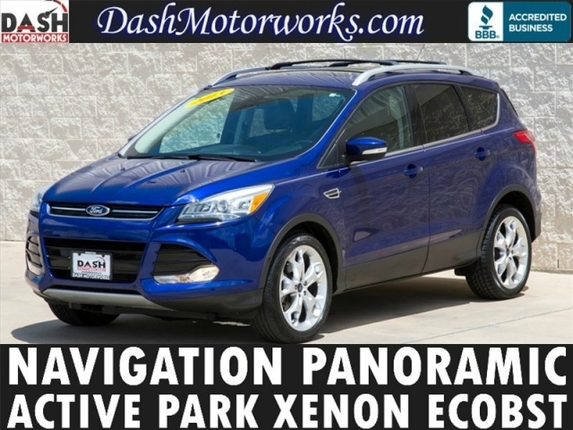 2013 Ford Escape Titanium Navigation Panoramic Camera Sony
