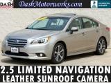Subaru Legacy 2.5i Limited Navigation Leather Sunroof 2015