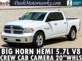 RAM 1500 Crew Cab Big Horn V8 Camera Alpine 2016