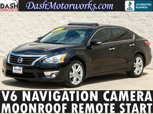 2013 Nissan Altima V6 Navigation Camera Moonroof Paddles