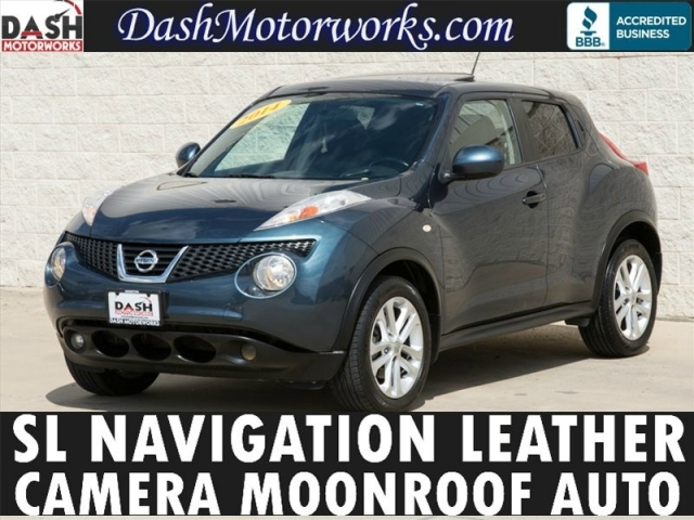 2014 Nissan Juke SL Leather Navigation Camera Sunroof