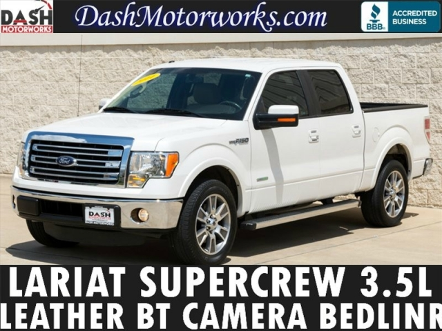 2014 Ford F-150 Lariat Camera Leather Ecoboost Cooled Seats