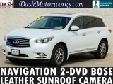 Infiniti JX35 AWD Navigation Bose 2-DVD Camera Sunroof 2013