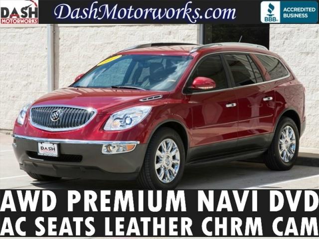 2012 Buick Enclave AWD Premium Navigation DVD Bose Camera Lea