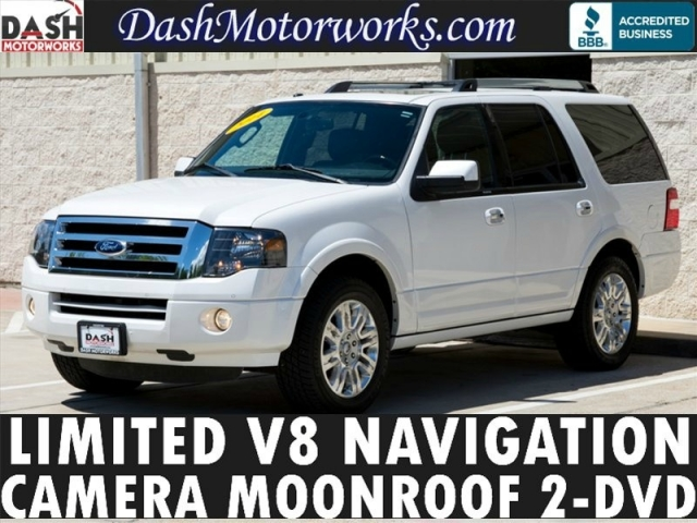 2014 Ford Expedition Limited V8 Navigation Sunroof Leather C