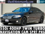 BMW 550i Twin Turbo 400hp Sport Navigation 2011