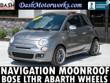 Fiat 500 Sport Navigation Leather Bose Manual 2012