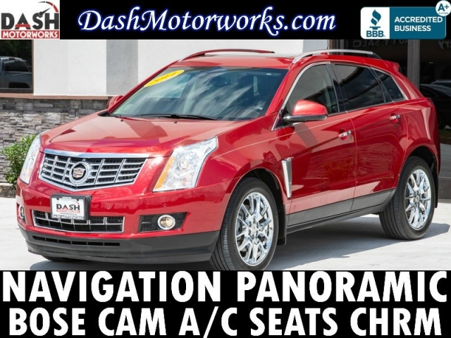 2014 Cadillac SRX Premium Navigation Panoramic Bose Chrome