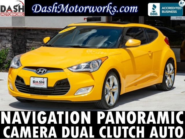 2016 Hyundai Veloster Tech Navigation Panoramic Camera Auto