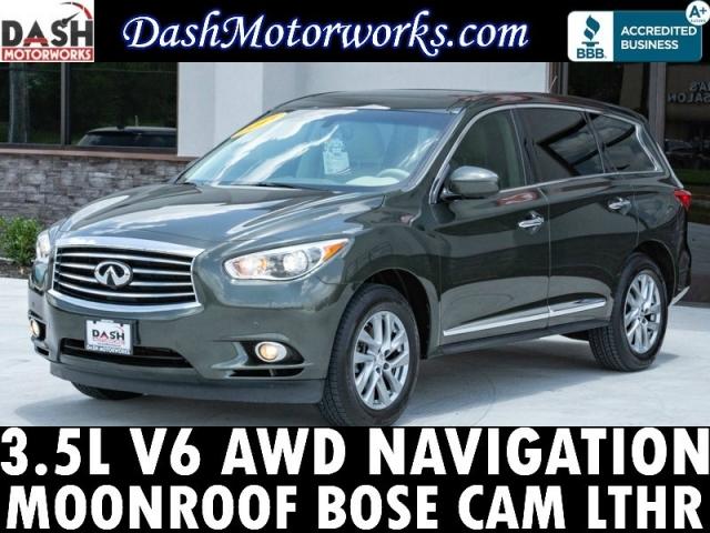 2013 Infiniti JX35 AWD Navigation Sunroof Bose Camera