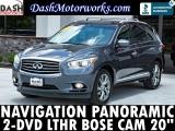 Infiniti JX35 Navigation Panoramic DVD Bose Camera 2013