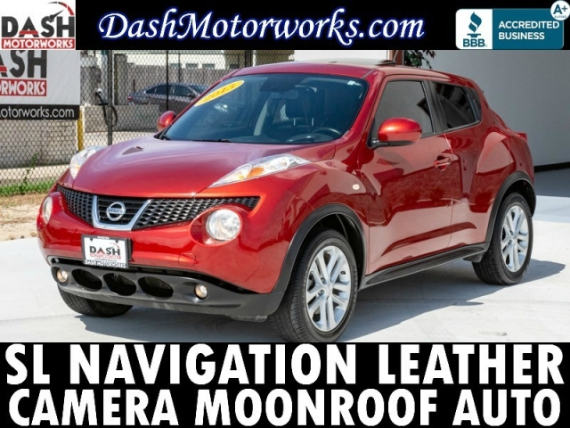 2013 Nissan Juke SL Leather Navigation Camera Sunroof