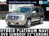 Cadillac Escalade Hybrid Navigation DVD Camera 2012