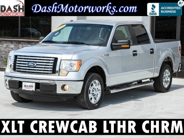 2012 Ford F-150 XLT SuperCrew Leather Chrome