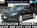 Lincoln MKS EcoBoost AWD Navigation Panoramic Elite 2014