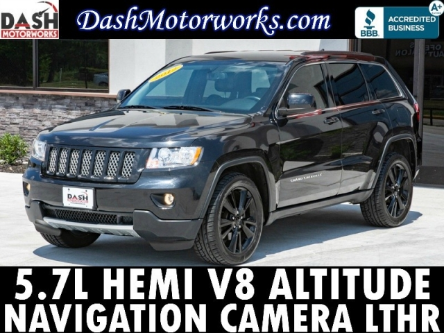 2012 Jeep Grand Cherokee Altitude Hemi V8 Navigation Camera